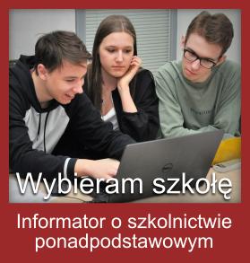 Informator o szkolnictwie ponadpodstawowym